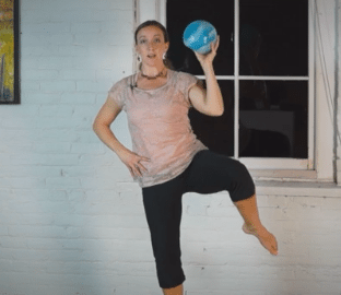 Tabata Ball Workout - fit2b.com