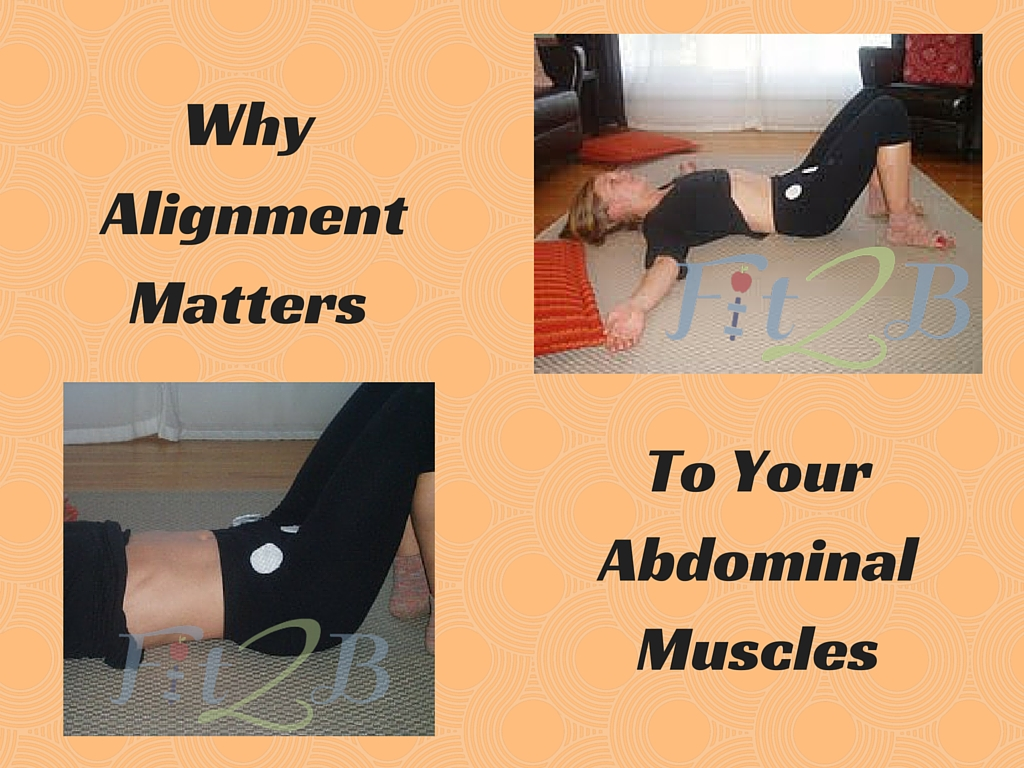 Why alignment matters to your abdominal muscles - Fit2b.com