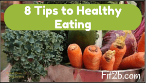 8 Tips to Healthy Eating - Fit2b.com