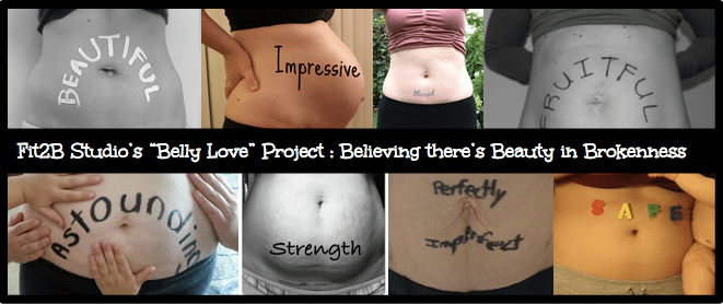 Beauty in Brokeness recovering from diastasis recti
