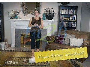 Foam Rolling Workout with a free video - Fit2B.com