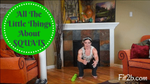 All The Little Things About Squatting - Fit2b