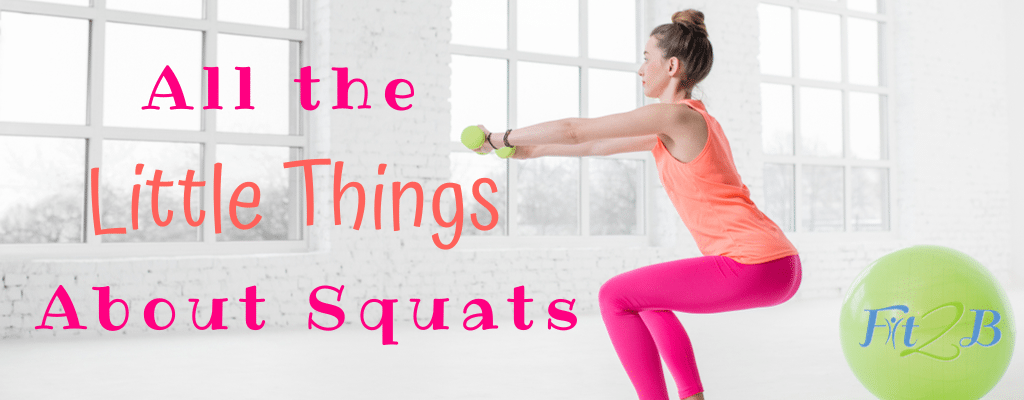 All the Little Things About Squats - Fit2B.com