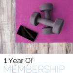 1 Year Of Membership - Fit2B