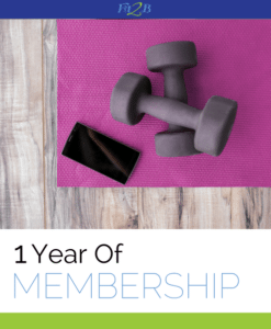 1 Year Of Membership - Fit2B
