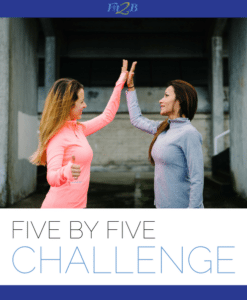 Five by Five Challenge – Fit2B Studio