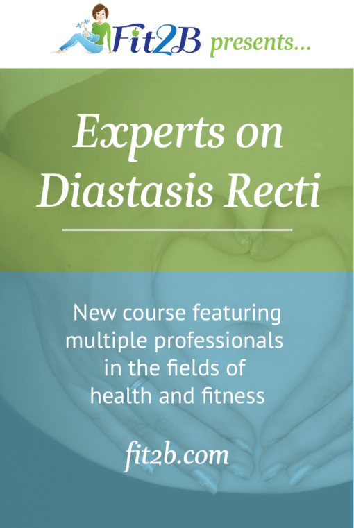 New eLearning course featuring multiple professionals in the fields of healthy and fitness UNITING TOGETHER from around the world to take on diastasis recti!