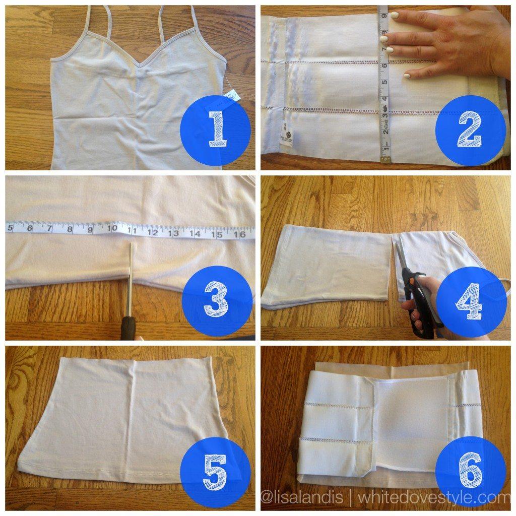 DIY No Sew Abdominal Splint Liner