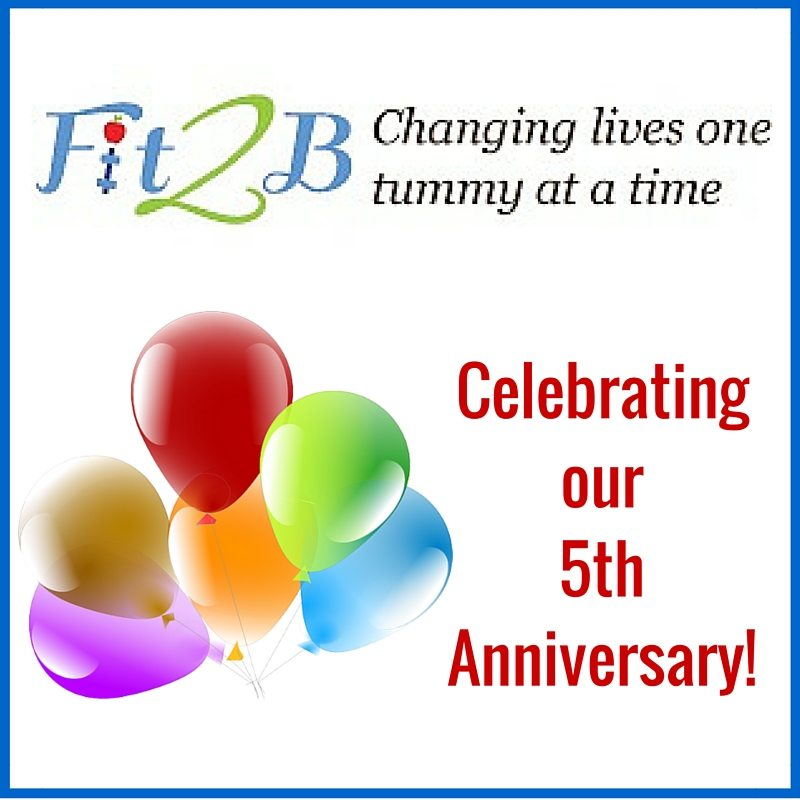Fit2B Celebrating our 5th Anniversary!