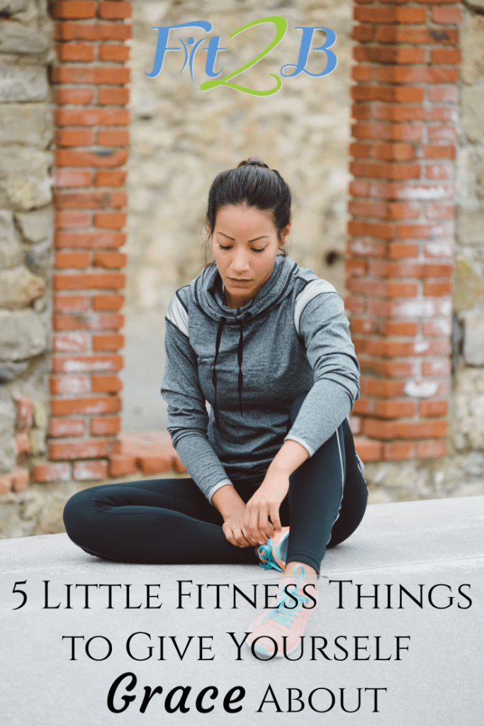 5 Little Fitness Things to {NOT} Obsess About - Fit2B.com - Can grace and fitness go together even when we struggle with the same alignment issues over and over? Does practice really make perfect? #fit #fitfam #fitmama #fitmom #health #healthy #gym #gymworkouts #core #corestrengthening #fitness #alignment #posture #goodposture #diastasisrectirecovery #motivation #weightloss #workout