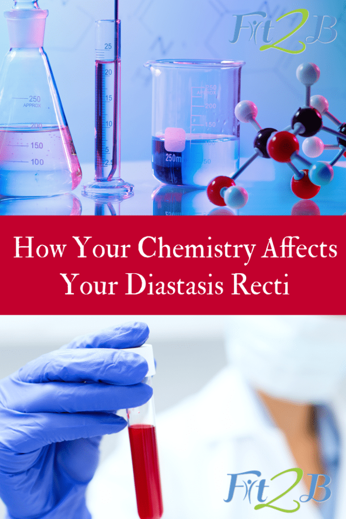 How Your Chemistry Affects Your Diastasis Recti - #core #corestrengthening #diastasisrectirecovery #mummytummy #fitmom #fitmama #healthy #youarewhatyoueat #herbs #herbology