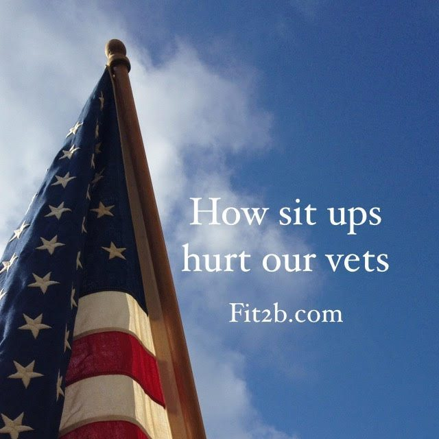 Are military testing methods which still contain lots of situps hurting our veterans? -fit2b.com