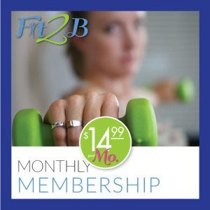 Fit2B Monthly Membership