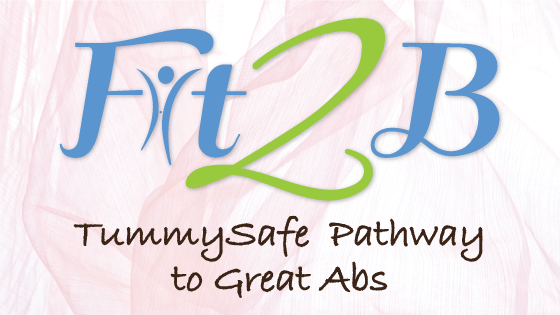 Home exercise videos for those dealing with diastasis recti on fit2b.com #fit2b #diastasis