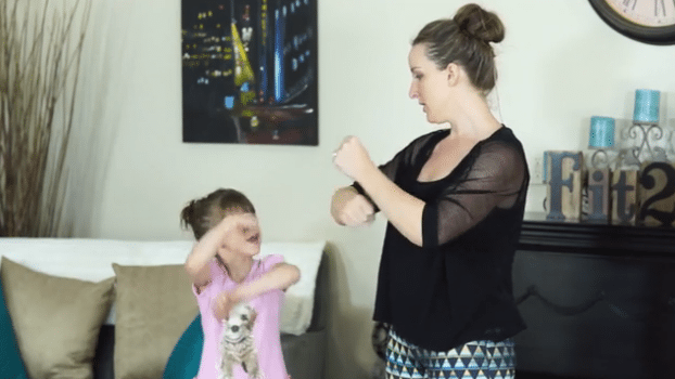 Kids workout routine with Small vs. Big motions - fit2b.com