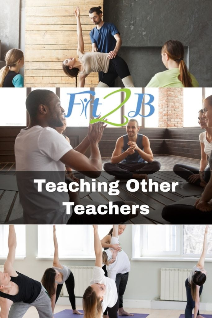 Teaching Other Teachers - Fit2B.com - #core #corestregthening #diastasisrectirecovery #mummytummy #fitmom #plank