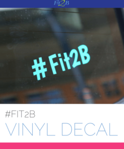Fit2B Vinyal Decal - Fit2B Studio