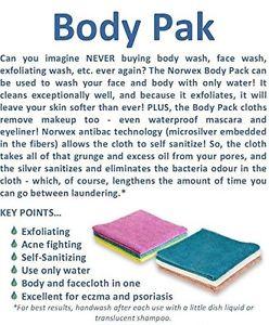 Norwex Body Cloth information