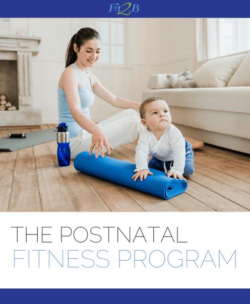 Postnatal Fitness Program - Fit2B.com