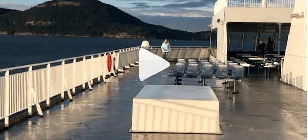 Instagram Highlights - laps on ferry deck - fit2b.com