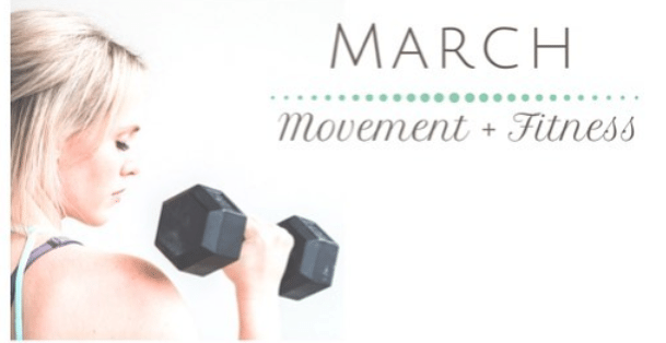 March Movement + Fitness - Fit2B.com