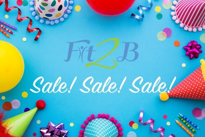 Fit2B Celebrating 8 Years! Sale & Giveaway!
