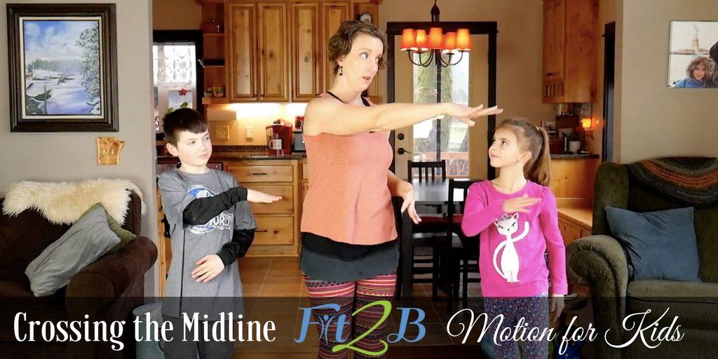 Crossing the Midline | Motion for Kids
