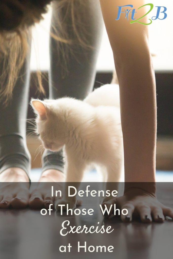 In Defense of Those Who Exercise at Home - Fit2B.com - #diastasisrecti #tummysafe #pelvicfloor #core #corestregthening #avoidpeeingonyourself #abgap #postpartum