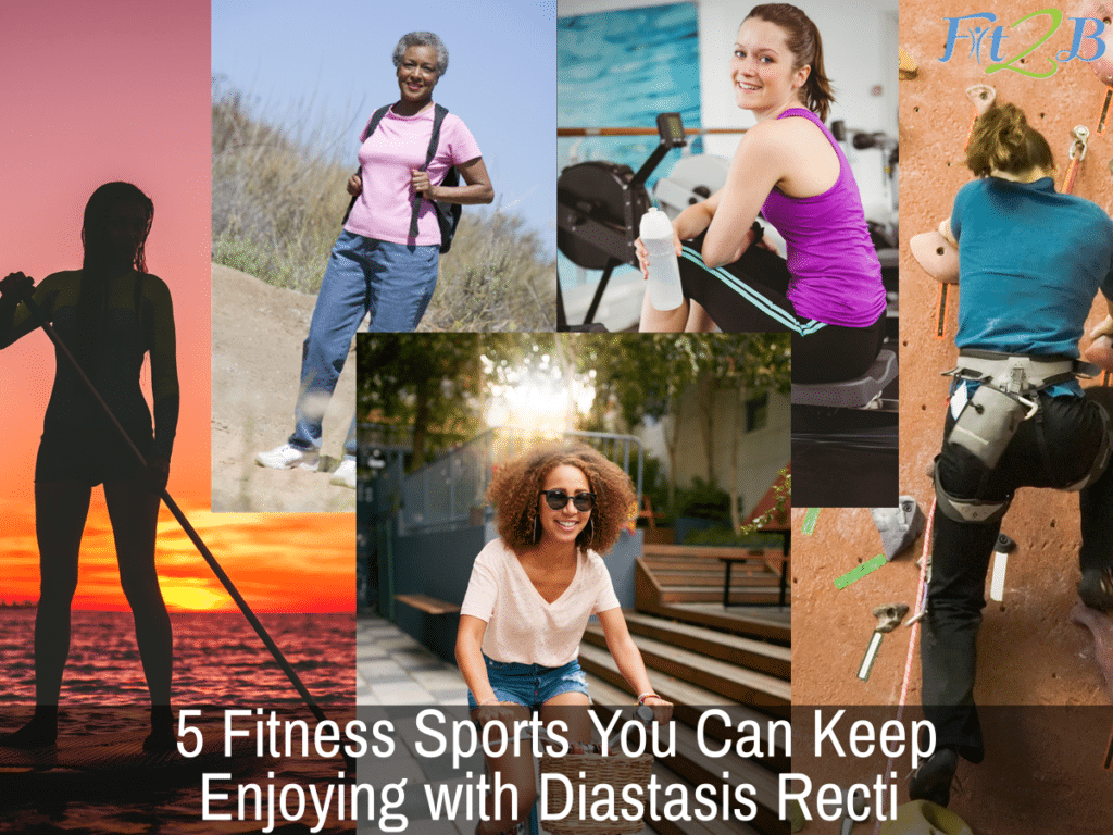 5 Fitness Sports You Can Keep Enjoying with Diastasis Recti - Fit2B.com