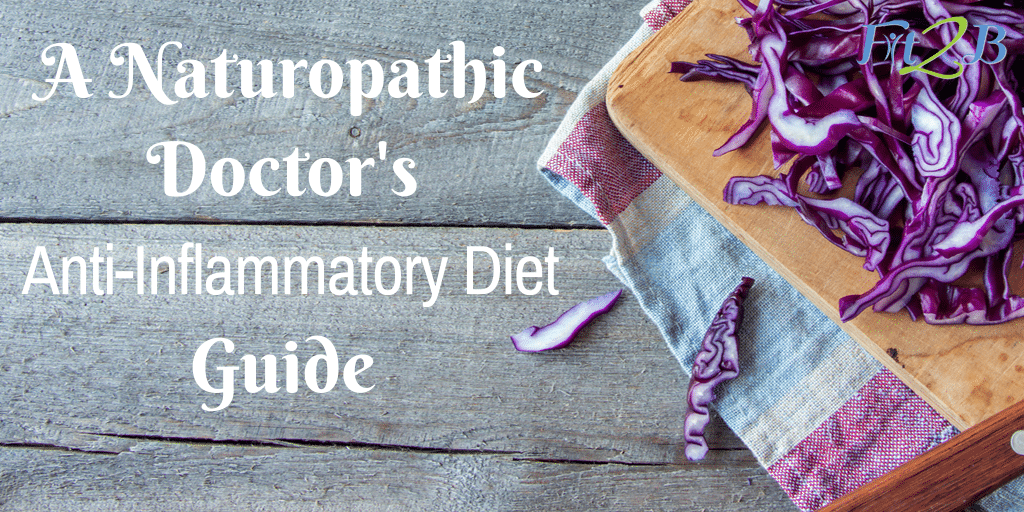 A Naturopathic Doctor's Anti-Inflammatory Diet Guide - Fit2B.com