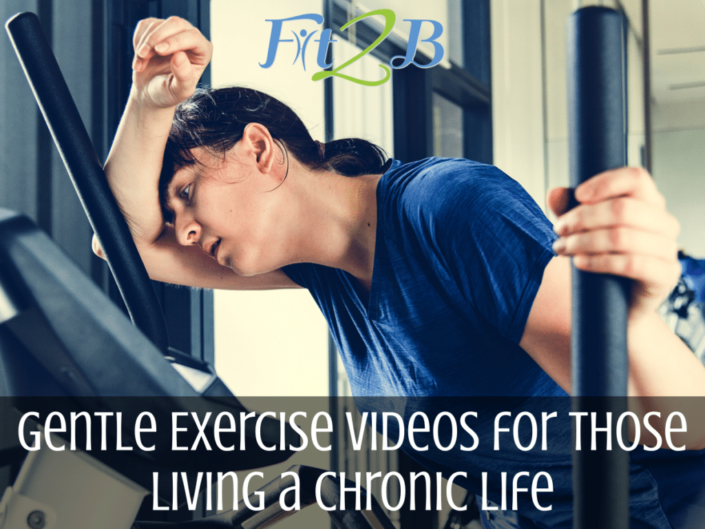 Gentle Exercise Videos for Those Living a Chronic Life - Fit2B.com