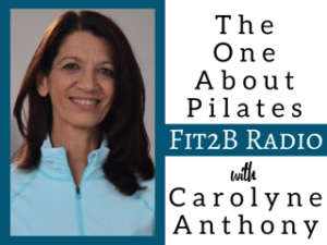 EP 36 - The One About Pilates With Carolyne Anthony
