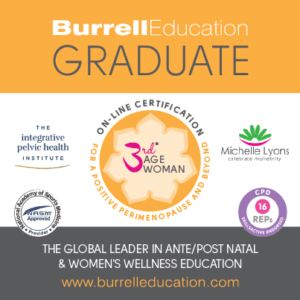 Beth Learn of Fit2B is a Burrell Education Graduate & Proud 3rd Age Woman Instructor!