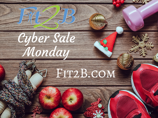 Cyber Monday At Fit2B Studio!
