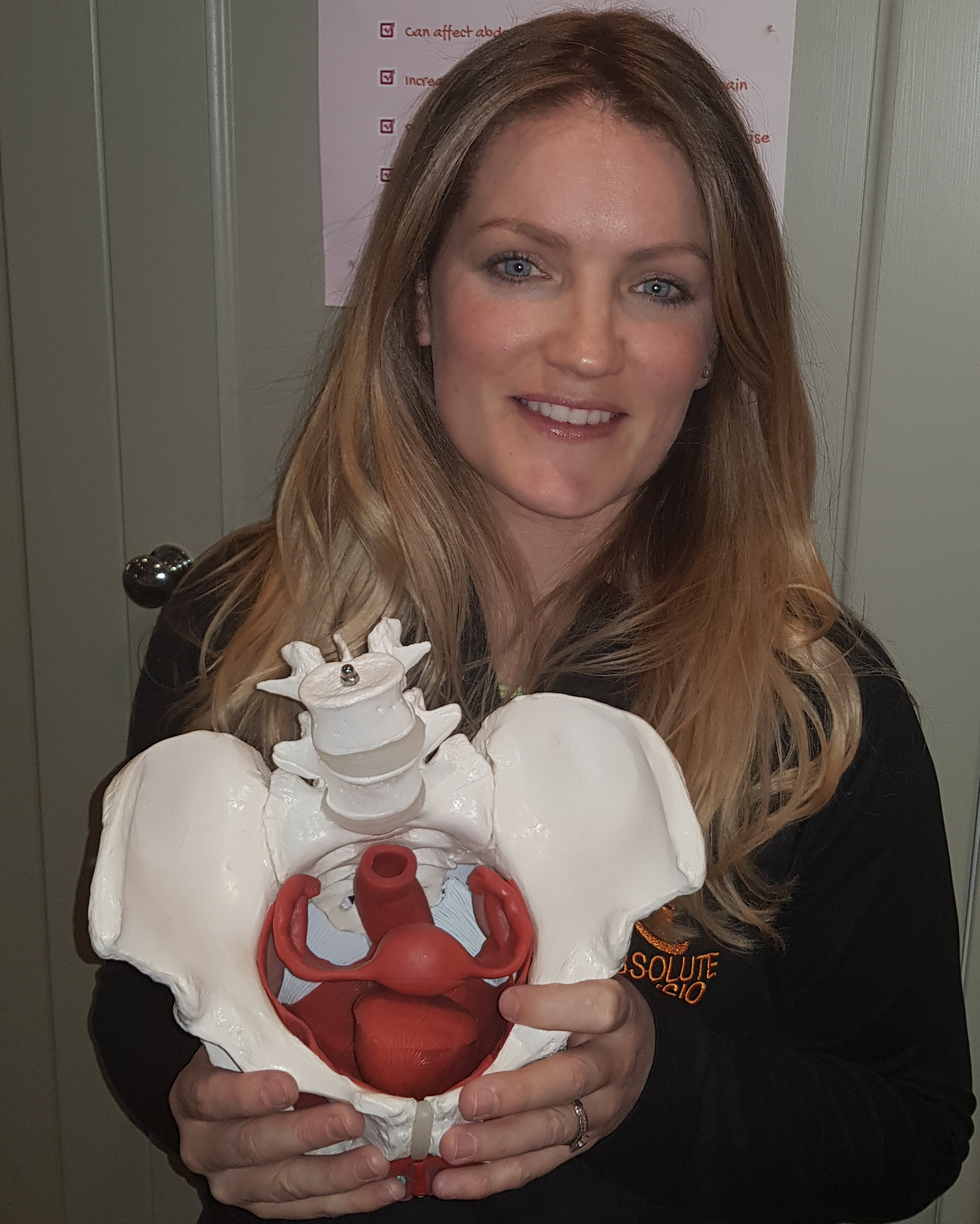 Grainne Donnelly, Absolute Physio - fit2b.com - Grainne Donnelly, pelvic bowl, internal organs