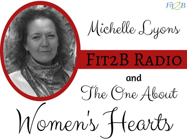 EP 50 - The one about women's hearts With Michelle Lyons - Fit2B.com - You know exercise improves heart health, but why? And is it just cardio that does the trick? What about weightlifting? - #heart #hearthealth #womenshearts #cardiovascular #fitness #health #healthy #AmericanHeartAssociation #core #strengthtraining #cardio #corestrengthening #diastasisrecti #motivation #weightloss #workout #coreworkouts #fitnessmotivation #podcast #diastasis #selfcare