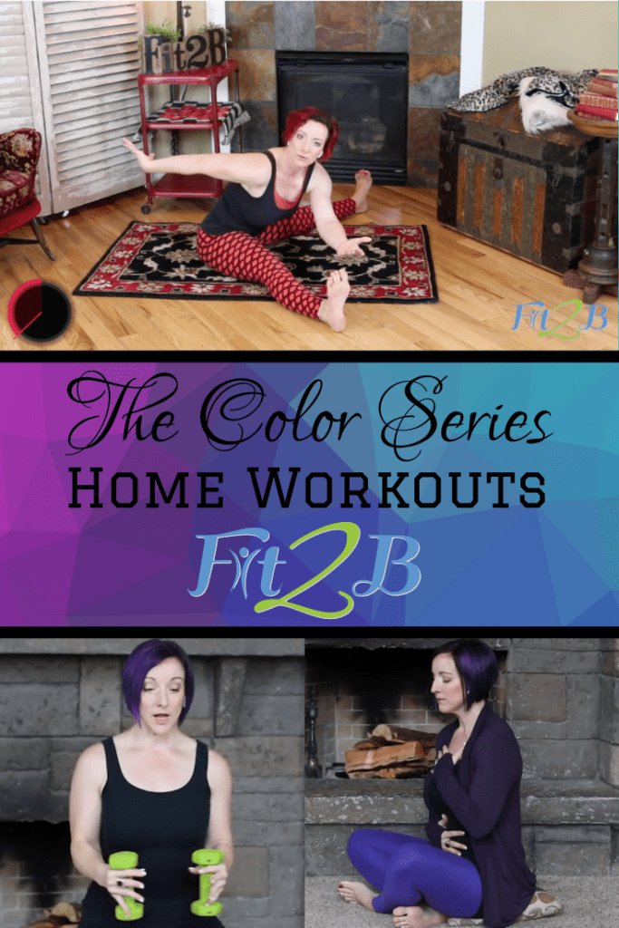"Announcing our new ""Color Series"" of Home Workouts - Fit2B.com - Looking for something different for your cardio summer home workout? How about adding some color to your weight lifting fitness routine? As always, Fit2B workouts are tummy safe and diastasis friendly. #fitnessjourney #fitnessmotivation #bodypositive #strongnotskinny #homefitness #homeworkouts_4u #healthylifestyle #coreworkouts #abworkout #fitmom #healthylife #healthylifestyle #cardio #armworkout #legworkout #rehab #diastasis #diastasisrecti #diastasisrecovery #fit2b"