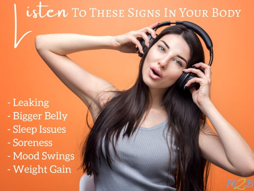 """Listen to Your Body: 6 Signs Your Fitness Needs to Change - Fit2B.com -The """"seeing results fitness"""" mentality can keep us from listening to our bodies. Click through to read if you could be doing damage during core workouts and causing things like diastasis recti. #fitnessmotivation #getfit #furtherfasterforever #whstrong #shapesquad #fitmomlife #bodypositive #sweateveryday #strongnotskinny #homefitness #abworkout #homeworkouts_4u #healthylife #healthylifestyle #fitnessroutine #coreworkouts #core #diastasisrecti #diastasis #fit2b #postpartum"""