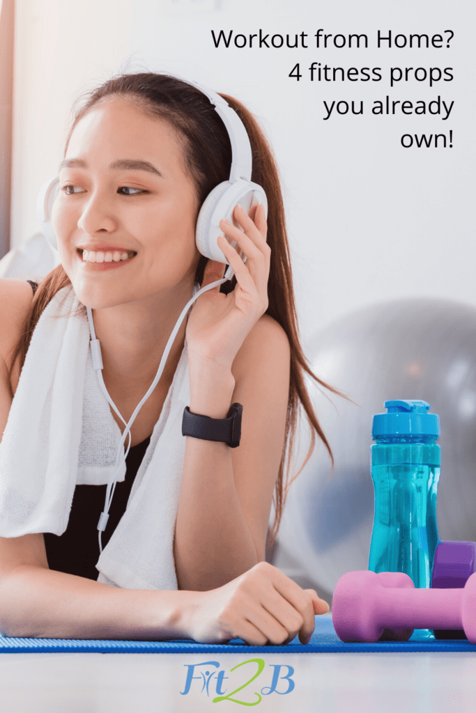 """9 Home Fitness Props – No Machines Required - Fit2B.com - Fit2B knows busy moms are elated when they find enough fitness motivation to start asking, """"Where can I find help to workout from home? What fitness equipment do I need? Are resistance band exercises for me or should I check out kettlebell exercises?"""" Fit2B has you covered, where we help women (especially those with abdominal trauma like diastasis recti) make a strategic return to fitness in a tummy safe way using minimal props. Those we do recommend you can find here. #diastasisrecti #fit2b"""