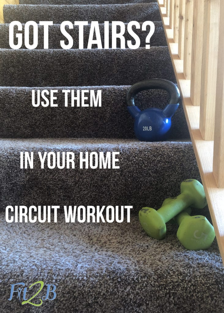 Fit2B Creates a Home Circuit Workout