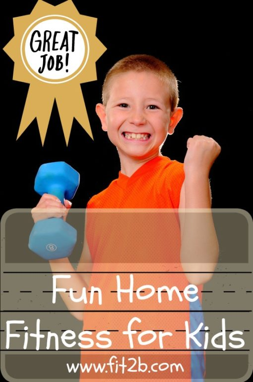 Fun home fitness for kids from fit2b.com - Fit2B Kids!