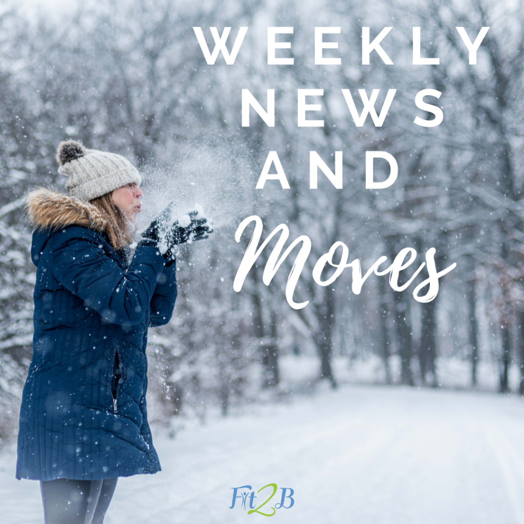 Welcome to The Weekly News & Free Moves where you'll find one our unique Diastasis Recti-aware 'shortie' workout videos each week + links to new content, exercise Q&A, a contributor spotlight, this month's featured workout pathway, and more!