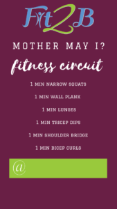 Instagram Story Shareable: Fitness Circuit
