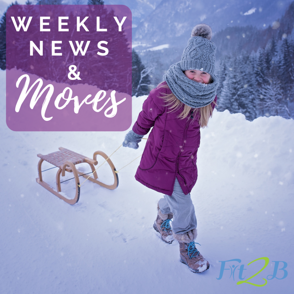 Weekly News & Moves: Free workout, exercise Q & A, guest expert spotlight, latest content from fit2b.com
