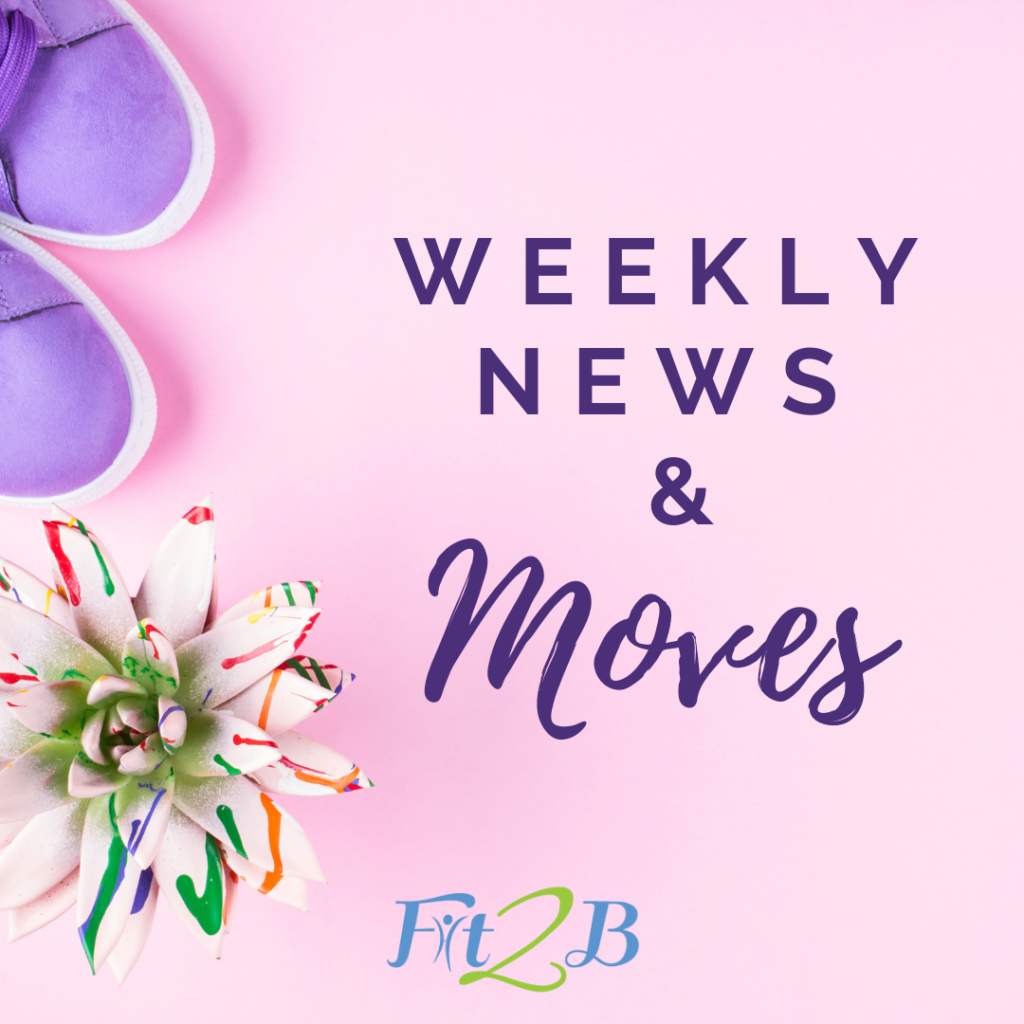 Welcome to The Weekly News & Free Moves where you'll find one of our unique Diastasis Recti-aware 'shortie' workout videos each week + links to new content, exercise Q&A with me, a spotlight on one of our contributors, this month's featured workout pathway, and more!