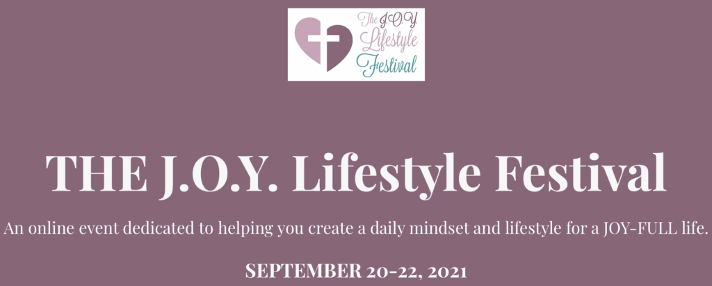 Exercising for Mood & Emotions is Beth's topic that she'll be speaking on during the JOY Lifestyle Festival this year!
